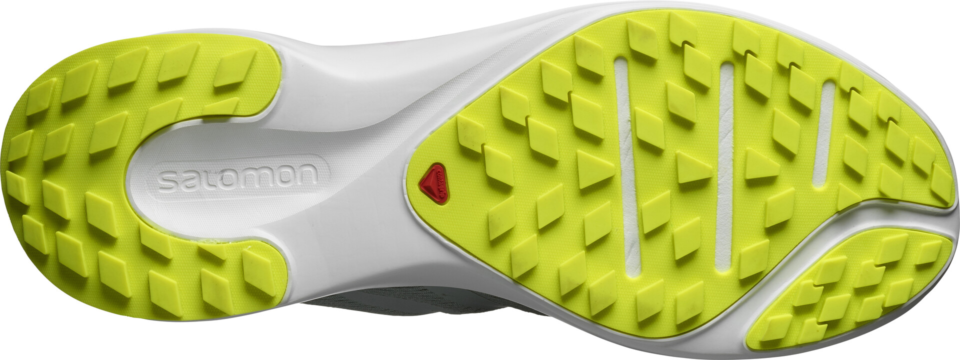 Salomon Sense Flow GTX Buty Mężczyźni, green milieuwhitesafety yellow